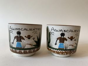 Adorable Hand-painted Ethnic Boho Coffee Mugs for Sale in Calabasas, CA