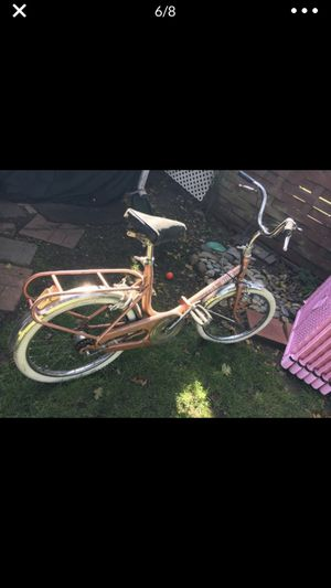 Vintage fold up bike!! for Sale in Tacoma, WA