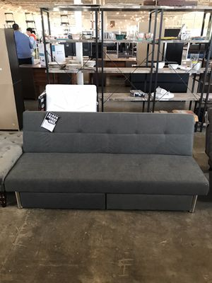 Grey Futon ‼️Black Friday Sale‼️ for Sale in Dallas, TX
