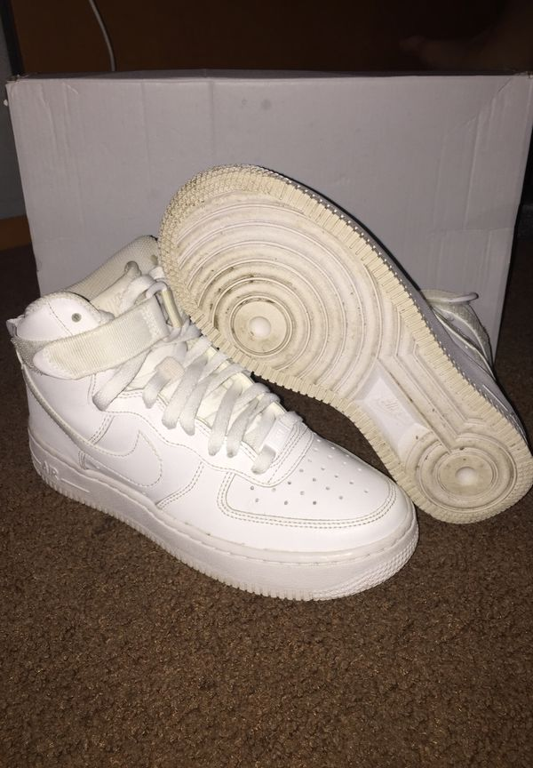 Air Force 1 size youth/big boys 4