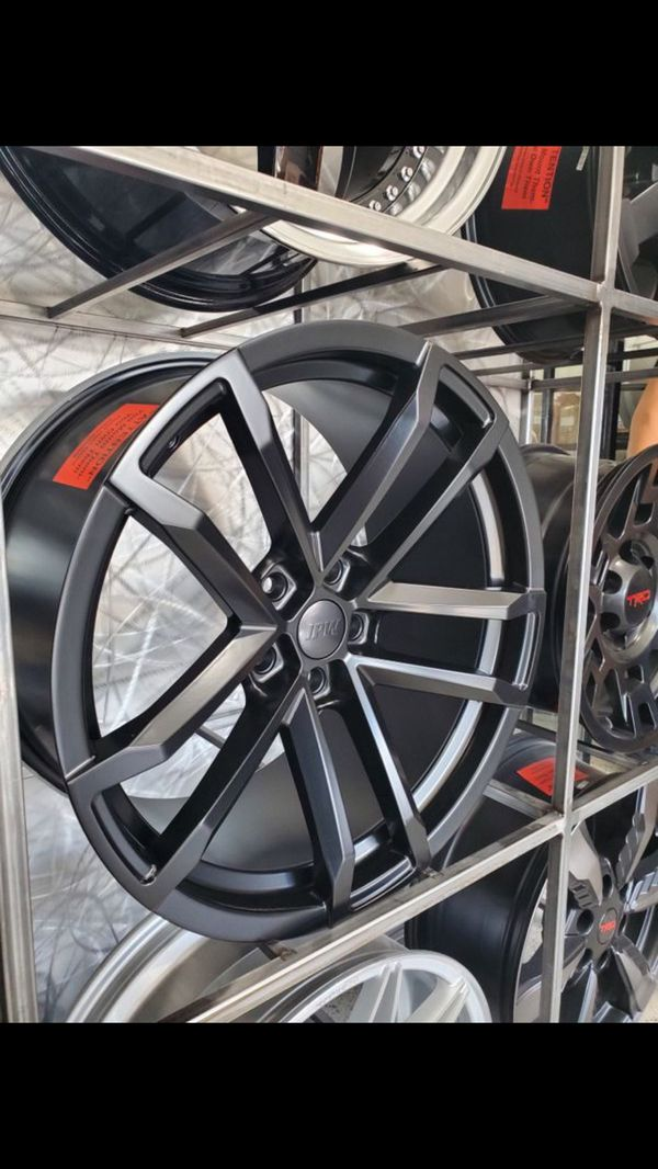 Satin black Zl1 style Camaro wheels fits 2010-2019 camaro 5x120 wheel tire rim shop