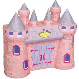 Princess Castle Pinata, 16.75 x 16.5 in, Pink, 1ct for Sale in Huntington Beach, CA