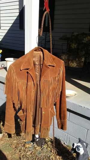 Women's jacket fringed small size for Sale in Alexis, NC