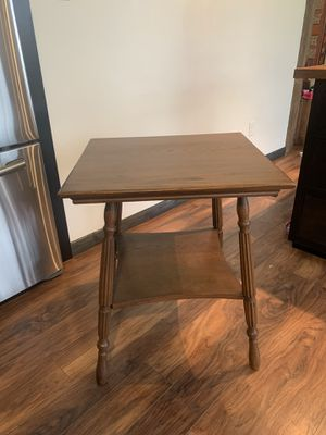 Antique solid oak Americana side table for Sale in Leechburg, PA