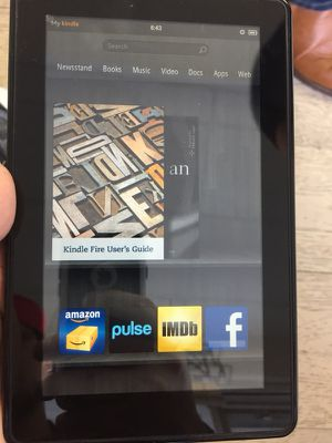 Kindle tablet for Sale in Los Angeles, CA
