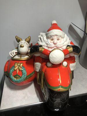 Very Rare Harley Santa design Fitz & Floyd Cookie Jar for Sale in Zephyrhills, FL