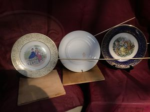 Imperial service plates 23 Kt Gold for Sale in Puyallup, WA