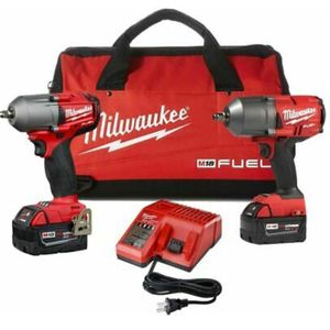 Milwaukee 2 18v impacts + headlamp for Sale in Binghamton, NY