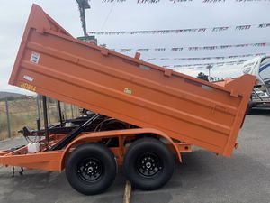 Hd 8x12x3 drop board 14000lb gvw /ramps $7500 for Sale in Whittier, CA