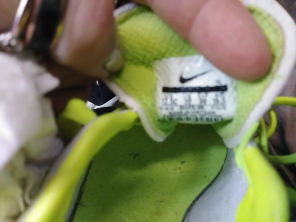 Youth size. Nike cleats