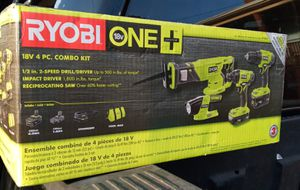 Ryobi tools box brand new for Sale in Everett, MA