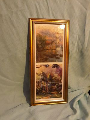 Landscape puzzle framed pictures! for Sale in Lewiston, ME