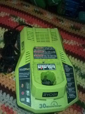 Ryobi 30 min charger for Sale in Hemet, CA
