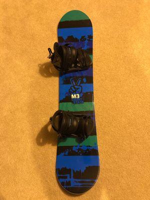 Kids M3 Short Stack 120 snowboard for Sale in Portage, MI