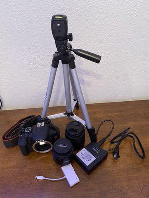 Canon t3i kit for Sale in San Antonio, TX