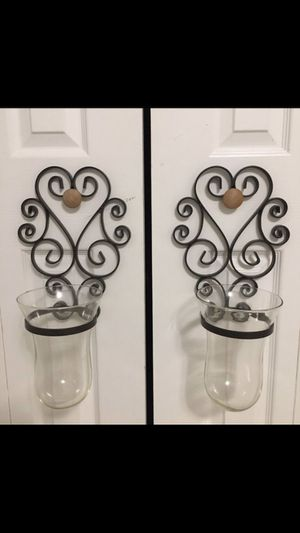 Candle Holder Wall Sconce 2-piece Set for Sale in Orlando, FL
