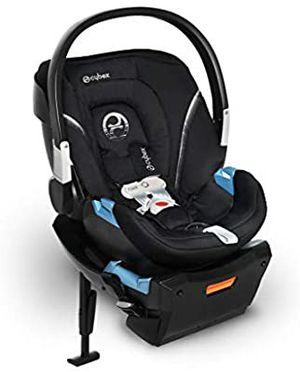 NEW Infant Car Seat Cybex Aton 2 Sensorsafe, Lavastone Black for Sale in Sacramento, CA