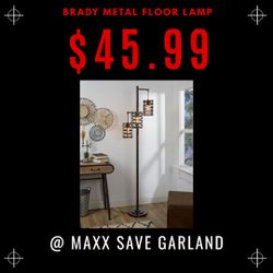 Brady metal floor lamp for Sale in Garland,  TX