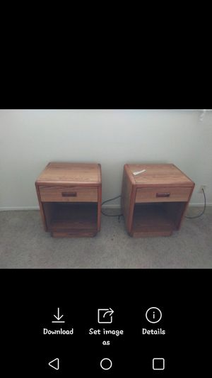 2 nightstands for Sale in Jefferson City, MO