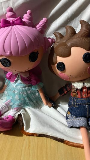 lalaloopsy doll boy and girl for Sale in Hemet, CA