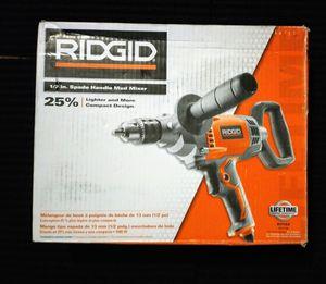 NEW, RIDGID MUD MIXER for Sale in San Jose, CA