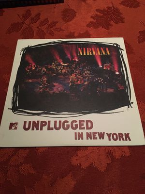 Nirvana unplugged vinyl for Sale in Victoria, TX