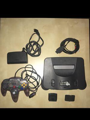 Nintendo 64 Console And Controller for Sale in Santa Clara, CA