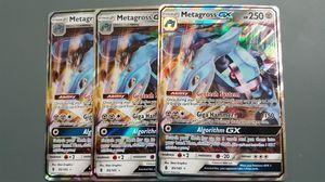 Metagross GX x3 Set Pokemon Cards for Sale in Phoenix, AZ