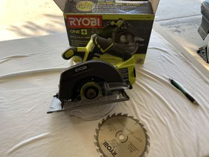 RYOBI RYOBI 18-Volt ONE+ Cordless 6-1/2 in. Circular Saw (Tool Only) for Sale in Fontana, CA