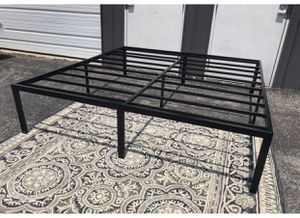 """New 18"""" QUEEN platform bed frame heavy duty for Sale in Columbus, OH"""