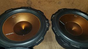 12 inch subwoofers for Sale in Eastlake, OH