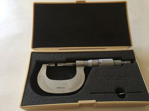 """Mitutoyo blade micrometer 0-1"""" for Sale in Chicago, IL"""