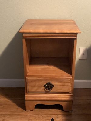 Antique Side drawer FREE if you pick up—no contact required for Sale in Seattle, WA