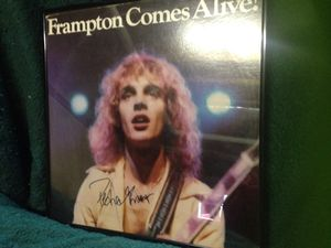 Peter Frampton autographed Comes Alive for Sale in St. Louis, MO