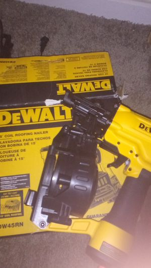 Never used! Dewalt roofing nail gun for Sale in Fort Worth, TX