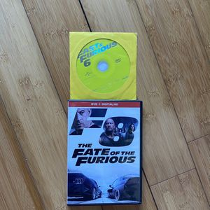 F8 And The Furios Fast 8 + Fast 6 Combo Pack for Sale in Fort Lauderdale, FL