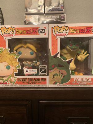 Dragon Ball Z Funko Pops for Sale in Arlington, TX