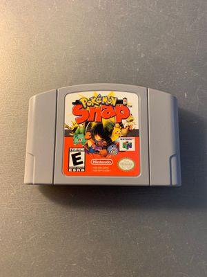 Pokemon Snap nintendo 64 n64 for Sale in Santa Ana, CA
