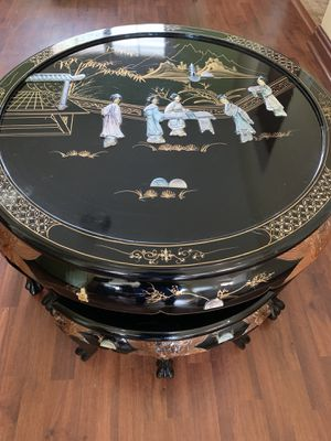 China antique table for 4 for Sale in Orlando, FL