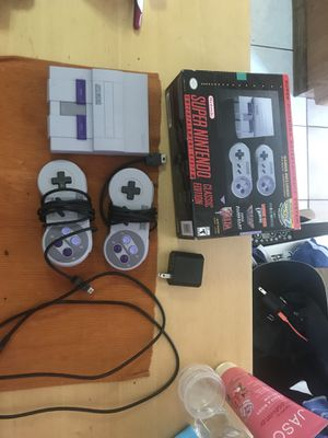 Super Nintendo ens $70 for Sale in Brooklyn, NY