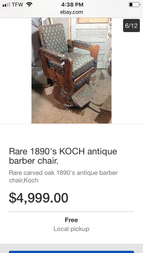 Barber Shop Late 1800s Early 1900s For Sale In Chicago Il