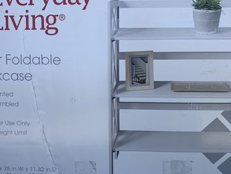 3 Tier Foldable Bookcase for Sale in Covina,  CA