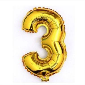 "HUGE 36"" (3ft) Number 3 balloon birthday party decor for Sale in Lake Stevens, WA"
