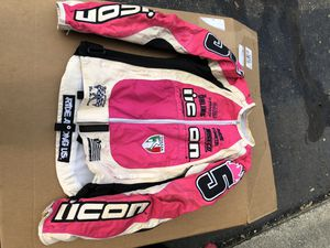 Icon motorcycle women jacket size Small for Sale in Westland, MI