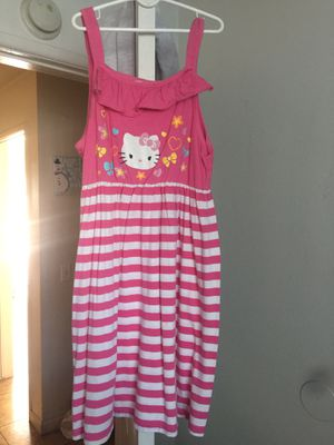 Hello kitty dress size 10/12 good condition for Sale in Riverside, CA
