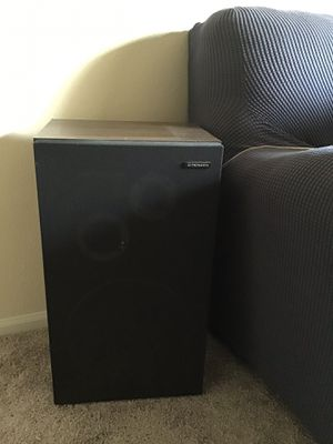 Two Pairs of speakers (Large Pioneer and Smaller Bose) for Sale in Berwyn Heights, MD