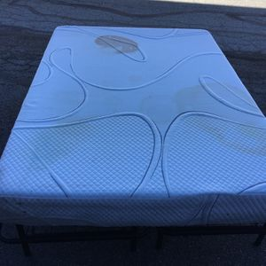 Full Size Foam Mattress With Fold-up Metal Frame- FREE for Sale in Indianapolis, IN