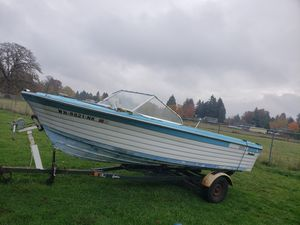 1969 19 foot free boat only! for Sale in Oregon City, OR