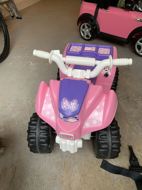 Fisher Price Minnie Mouse Power Wheels