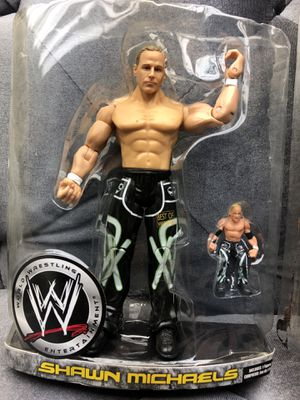 WWE Best Of Wrestlemania 24 XXIV Shawn Michaels Action Figure 2008 for Sale in Fresno, CA